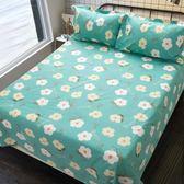 棉質老粗布床單單件加厚簡約全棉帆布單雙人棉布被單1.5m1.8米床【618好康又一發】