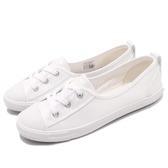 Converse CTAS Ballet Lace Slip 白 全白 低筒 透氣 娃娃鞋 基本款 女鞋【PUMP306】 562168C