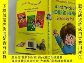 二手書博民逛書店A罕見Hat Trick of Horrid Henry:可怕的亨利的帽子戲法Y200392