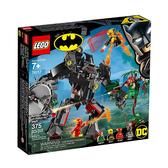 【LEGO 樂高 積木】LT-76117 Super Heroes 超級英雄 蝙蝠機甲對決毒藤女機甲(375pcs)