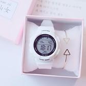 正韓 鬧鐘 數字式夜光休閒 潮流女款中學生 電子手錶 女孩 手錶