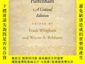 二手書博民逛書店The罕見Art Of English Poesy Critic
