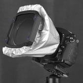鏡頭遮光套 百諾100mm方形插片濾鏡支架漸變中灰鏡遮光罩濾除雜光·享家生活館
