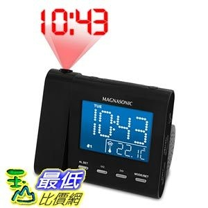 [103美國直購] Magnasonic 廣播收音投影鬧鐘 MAG-MM176K AM/FM Projection Clock Radio
