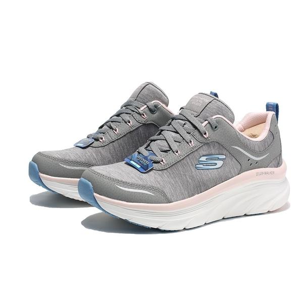 SKECHERS 休閒鞋 D'LUX COOL GROOVE 灰 粉藍 慢跑 女(布魯克林) 149336GYPK