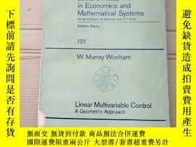 二手書博民逛書店lecture罕見notes in economics and mathematical systems 101(