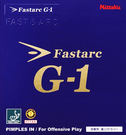 Nittaku Fastarc G-1 德系蛋糕海綿 平面膠皮