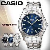 CASIO手錶專賣店 卡西歐  MTP-1243D-2A 男錶  礦物防刮玻璃 日常生活防水 刻度夜光 不鏽鋼外殼錶帶