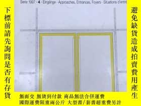 二手書博民逛書店德語原版Detail建築細部雜誌,1997年4月,主題:罕見入口