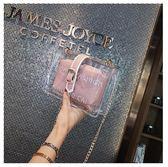 斜背包 側背包 包包 字母 透明 搭釦 子母包 手拿包 鍊條 側肩包-單肩/斜背包【DMMX8862】 icoca  08/30