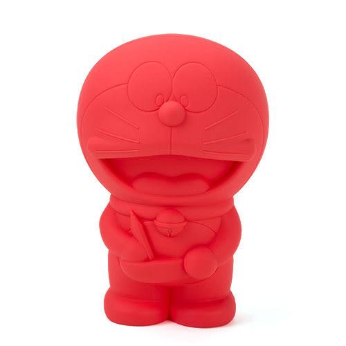 《CHARA PORT》Penke-Penke 哆啦A夢造型炫彩矽膠筆袋(熱情紅)★funbox生活用品★ CP99046