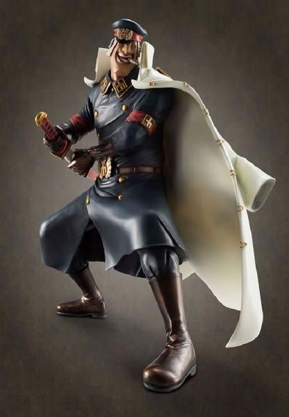 海賊王 ONE PIECE P.O.P 推進城看守長 - 雨之矢龍 手辦 模型 公仔