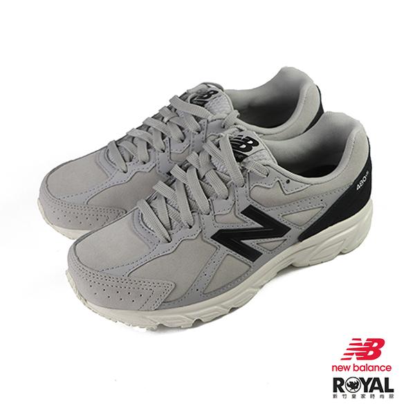 New balance 480 灰色 麂皮 4E 運動休閒鞋 男女款 NO.J0042【新竹皇家 W480SG5】