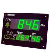 泰菱電子 TRH-3351  溫濕度二氧化碳顯示看板 TECPEL