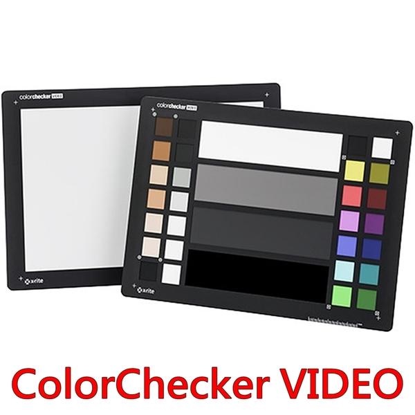 又敗家@X-Rite錄影攝影色卡白平衡卡ColorChecker VIDEO A4校色卡商攝顏色校色板校色卡避免色偏色溫度