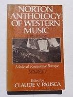 二手書 《Norton Anthology of Western Music: Mediaeval, Renaissance, Baroque v. 1》 R2Y ISBN:039395143X