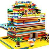 積木玩具3-6周歲兒童益智塑料拼裝