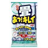 SOFT99 榻榻米用清潔打蠟濕巾