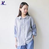 【秋冬降價款】American Bluedeer - 牛仔條紋襯衫 秋冬新款