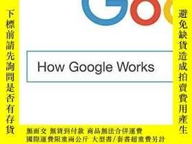 二手書博民逛書店How罕見Google WorksY271477 English