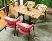 卡座沙發組合休閒餐廳咖啡廳沙發奶茶店甜品店飲品店桌椅組合CY『新佰數位屋』