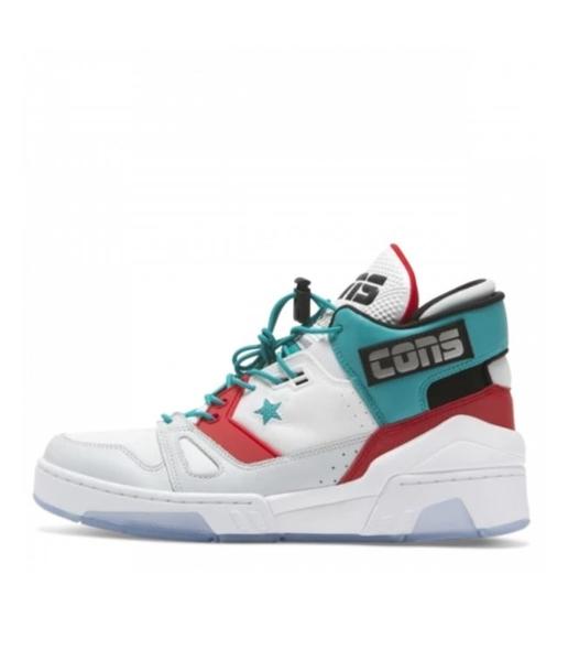 CONVERSE-ERX260 男款白綠紅色高筒運動籃球鞋-NO.165077C