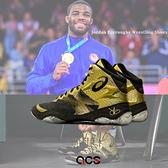 Asics 角力鞋 JB Elite IV 明星款 黑 金 專業角力運動 亞瑟士 男鞋【ACS】 1081A016200