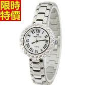 鑽錶-典型造型經典女手錶5j115[巴黎精品]