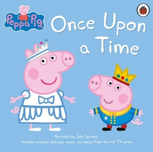 Peppa Pig:Once Upon A Time 佩佩豬經典故事集(僅CD一入)