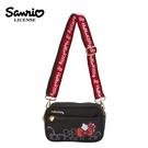 【日本正版】凱蒂貓 寬背帶 斜背包 側背包 隨身小包 Hello Kitty 三麗鷗 Sanrio - 489703