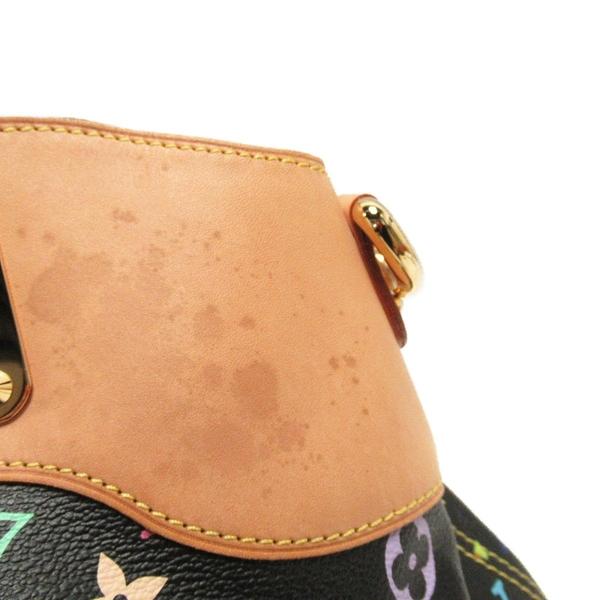 LOUIS VUITTON LV 路易威登 村上隆系列 黑彩手提肩背2way包 Judy GM M40254 BRAND OFF