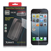 X_mart Apple iPhone 5S/5/5C強化0.26mm耐磨防指紋玻璃保護貼
