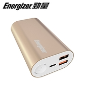 【Energizer 勁量】UE10028PQ 10000mAh 行動電源(金)