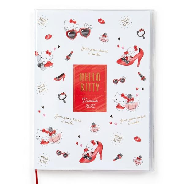 【震撼精品百貨】2021年曆~ Sanrio KITTY 2021年~記事手帳/年曆/行事曆/日誌/桌曆*57331
