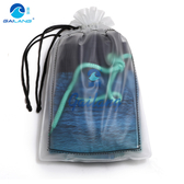 便攜式束口袋 沙灘戶外遊玩收納袋 防水包 沙灘褲泳裝收納包 【快速出貨】