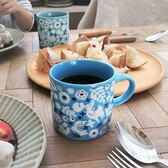 【日本製】KUKKA 北歐風 美濃燒 輕量馬克杯 水藍色 SD-3236 - 日本製