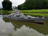 遙控軍艦模型輪船電動航空母艦禮品軍事玩具送禮兒童玩具遙控船戰 WE1309『優童屋』