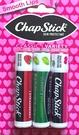 *禎的家* 美國 Chapstick 護唇膏 水果味 三件組~ 限量到貨