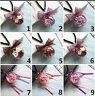 永生花DIY材料包,7CM透明球殼掛飾 這是材料包需自行製作