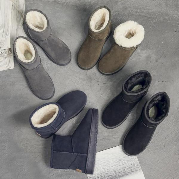 雪靴 雪地靴女冬季新款學生加絨加厚保暖網紅短筒短靴平底棉鞋子潮   夏季新品