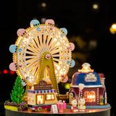 diy小屋手工制作小房子別墅模型六一兒童節女孩玩具創意生日禮物XSX