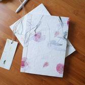 聖誕預熱 花草手工線裝記事本植物真花創意復古干花古風筆記本藝術禮物 挪威森林