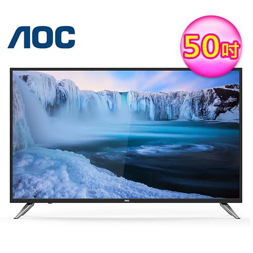 【AOC】50吋 4K UHD 智慧聯網 淨藍光液晶電視(LE50U7570) ★11/17前送米家洗手機套裝