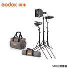 黑熊館 GODOX 神牛 SA-D S30三燈套組 可調焦 聚光燈 攝影燈 持續燈 外景拍攝 人物拍攝 靜物拍攝