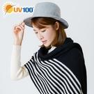 UV100 防曬 抗UV 時尚簡約紳士帽