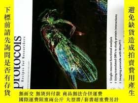 二手書博民逛書店Nature罕見Protocols 2014 01 自然學術論文