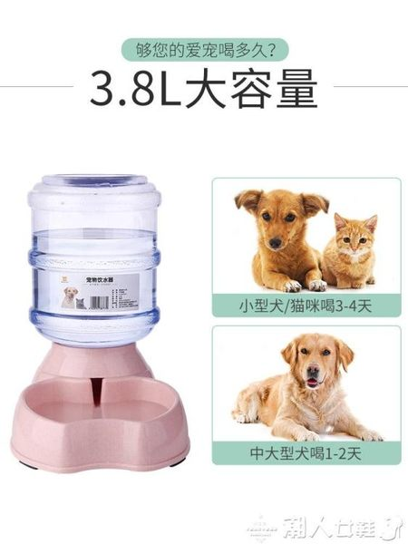 餵食器狗狗飲水器寵物自動喂食器喂水喝水器掛式貓咪飲水機狗碗寵物LX 【四月特賣】