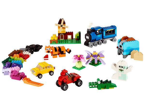 【LEGO樂高】CLASSIC 中型創意拼砌盒 #10696