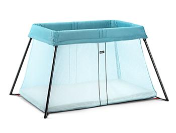 BabyBjorn  Travel Crib Light 超輕量透氣遊戲床-、水藍綠、時尚黑、時尚銀
