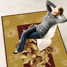 【范登伯格進口地毯】芭比人造絲質地毯-花開